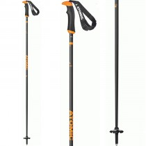 Atomic AMT Carbon SQS Grey/Orange Ski Poles