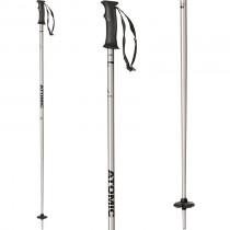 Atomic AMT Silver/Black Ski Poles