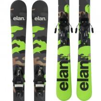 Elan Freeline Camo Snowblades + EL10.0 Shift GW