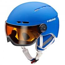 Head Knight Blue helm met vizier